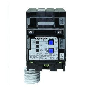Murray 20 Amp 3-1/2 in. Double-Pole Combination AFCI Circuit Breaker
