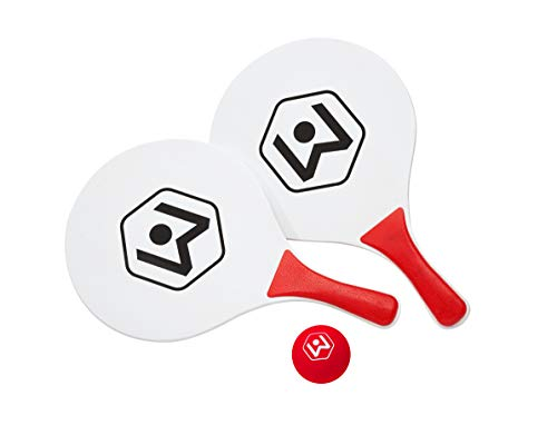 Wicked Big Sports Paddle Battle Extra Paddles & Ball Set