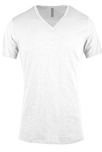 ViiViiKay Mens Short Sleeve Basic Slim Fit Tri-Blend and Cotton V Neck T Shirt BLACK S