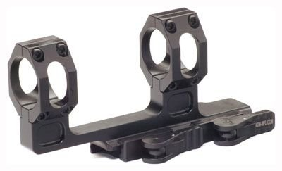 American Defense AD-RECON-H 1 STD Riflescope Optic Mount, Black by American Defense Mfg.