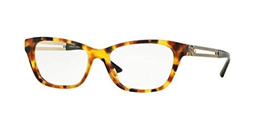 VERSACE Eyeglasses VE 3220 5119 Havana - Versace Glasses New