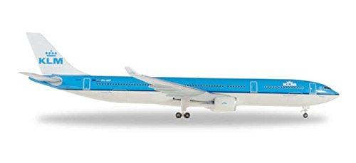 HE527903 Herpa Wings KLM A330-300 1:500 95 Years Model Airplane