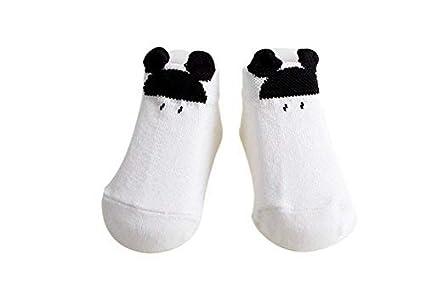 Scrox 1 Par Calcetines de bebé Calcetines antideslizantes para el suelo para Niños Adecuado para bebé