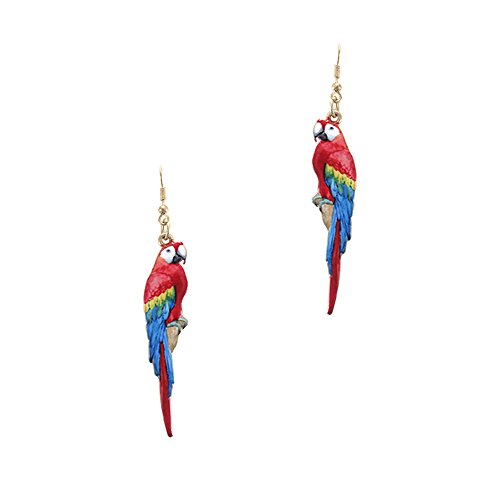 Colorful Parrot Fashion Dangle Earring
