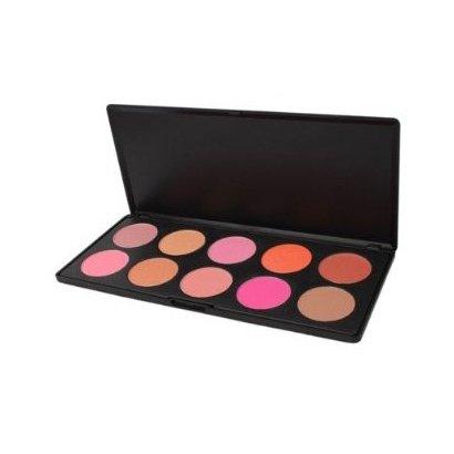 10 couleurs de maquillage cosmétiques fard à joues Blush