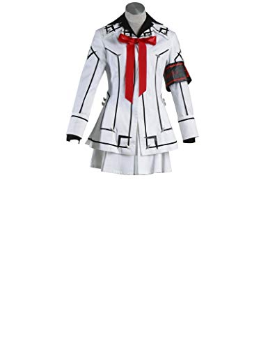 (Mtxc Women's Vampire Knight Cosplay Costume Night School Female Uniform Size Medium White)