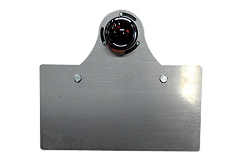 部品屋K&W サイドナンバーKIT (オールドテール2付) 純反り (リア側へ凸) P60622   B01GZQ6SAI