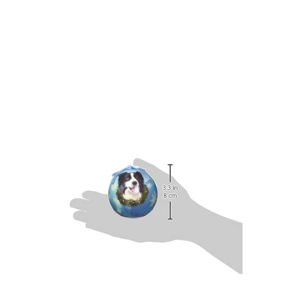 """Border Collie Christmas Ornament"" Shatter Proof Ball Easy To Personalize A Perfect Gift For Border Collie Lovers 2"
