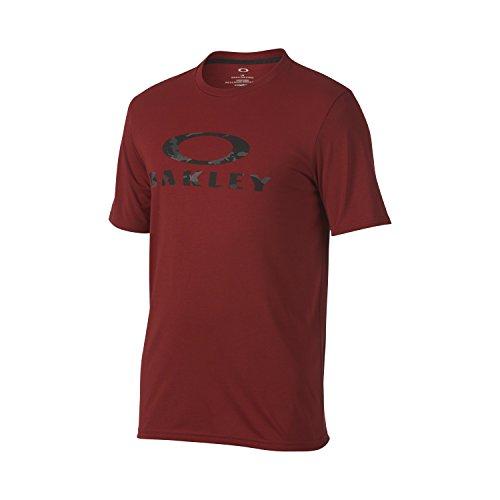 Oakley Men's O-Stealth II, Iron Red, - Shirts Oakley Mens