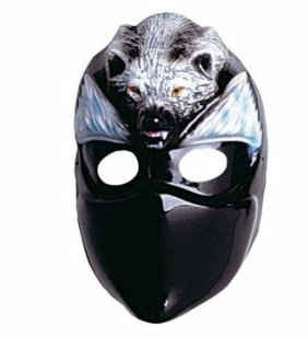 Ninja de la máscara de lobo de para niños con diseño de ...