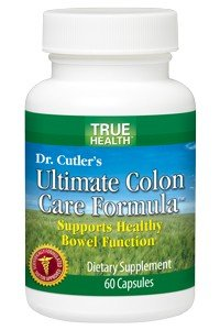 Dr. Cutler's Ultimate Colon Care Formula with Chinese Rhubarb | Cape Aloe | Digestive enzyme blend by True Health