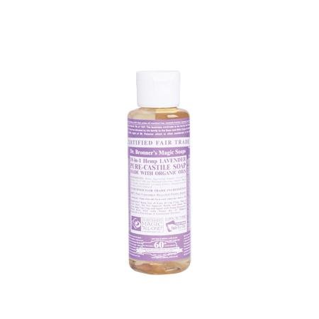 Dr Bronners Magic Soap All One Csla04 4 Oz Lavender 18 In 1 Dr. Bronner'S Liquid - All 1 Soap Lavender