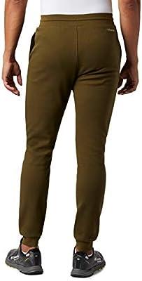 Columbia Lodge Pantalón de chándal de Felpa, Hombre, New Olive, XL ...