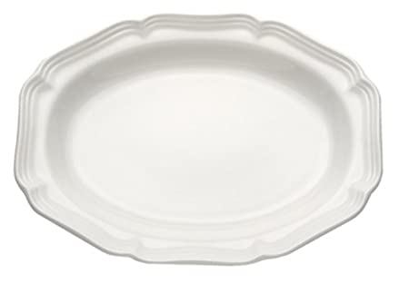 Mikasa French Countryside Square Dessert Tray, 11, Ivory 11 5093637
