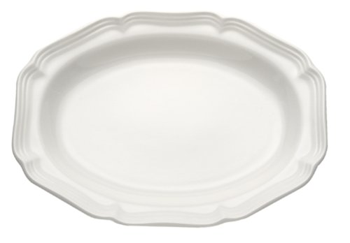 Platter French Oval (Mikasa French Countryside Oval Serving Platter, 15-Inch)