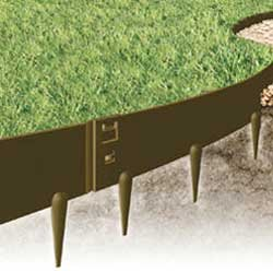 Everedge Steel Lawn Edging 3 Quot Brown Buy Online In Uae