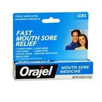 Orajel Orajel Mouth Sore Pain Relief Gel, 0,18 oz