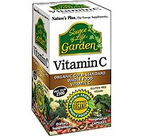 Natures Plus Bilberry (Nature's Plus - Source of Life Garden Organic Vitamin C 500mg, 60 VCaps)