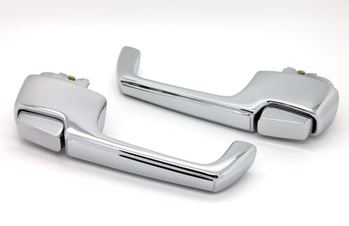 - LatchWell PRO-4000065 Exterior Door Handle Pair in Chrome for Chevy & GMC Pickup Truck