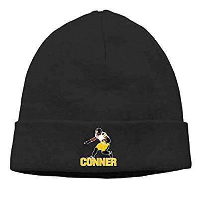 Veta Megica Men's Winter Warm Beanie Hats Black Pittsburgh Conner Running Slouchy Beanie for Women