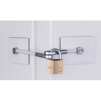 Amazon Com Refrigerator Door Lock No Padlock Appliances