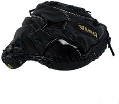 Vinci RLN49-22 Catchers Mitt in Black: 33.5 inch Traditional Web