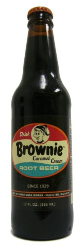 (Retro) Brownie Caramel Cream Root Beer 12 Pack ()