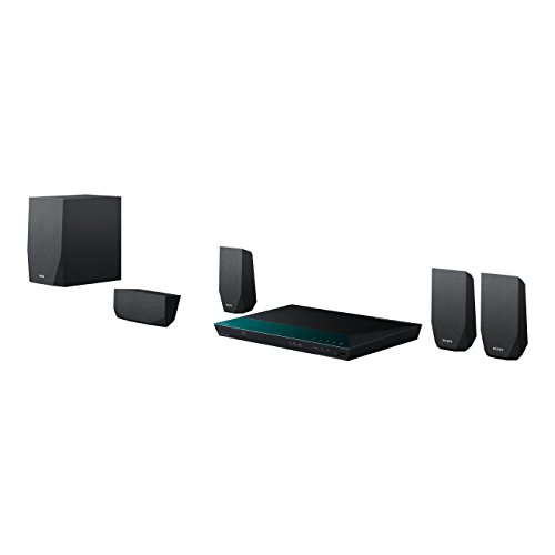 Sony BDV-E2100 5.1 Blu-ray Heimkinosystem (1000 Watt, 3D, W-LAN, Smart TV, Bluetooth, NFC) schwarz