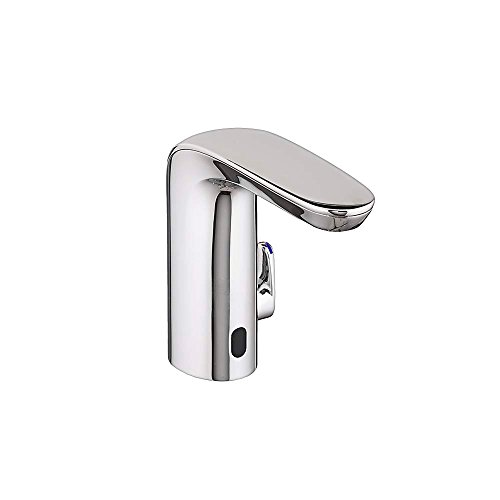 Bathroom Sink Faucet Elevated - American Standard 775B215.002 .35 GPM NextGen Selectronic Integrated Faucet Battery Powered Above Deck Mixing, Polished Chrome
