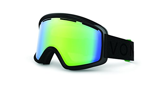 Veezee - Dba Von Zipper Beefy Ski Goggles, Vibrations Black Gloss/Quasar - Beefy Von Zipper