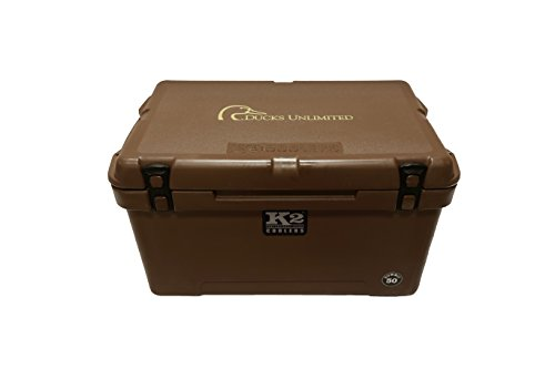 K2 Coolers Summit 50 Ducks Unlimited Edition Cooler, Mud Brown