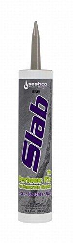 Sashco 16210 10.5 Oz Gray Slab Concrete Sealant 2 pack (Textured Slabs Patio)