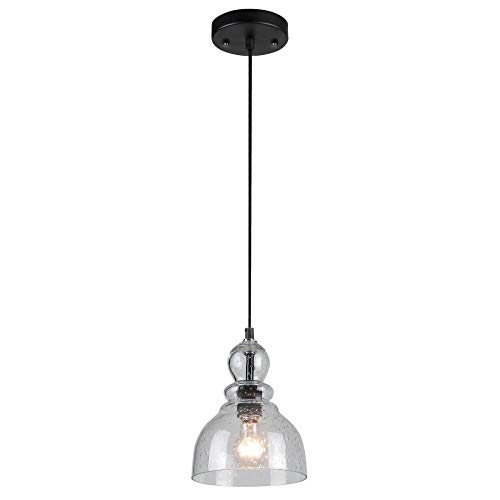 Oil Rubbed Bronze Outdoor Pendant Light in US - 6