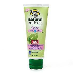 Banana Boat Natural Reflect Baby Sunscreen Lotion SPF 50+PA+++ 90 ml.(Honest Succeed)
