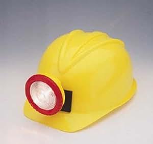 Children's Plastic Miner Hard Hat with Light