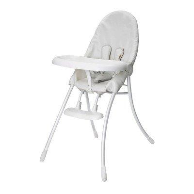 Bloom Nano Urban Highchair - White Frame & White Seat