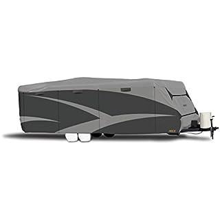 """ADCO 52244 Designer Series SFS Aqua Shed Travel Trailer RV Cover - 26'1"""" - 28'6"""", Gray"""