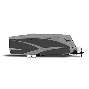 Image of ADCO 52242 Designer Series SFS Aqua Shed Travel Trailer RV Cover - 22'1' - 24' ,Gray RV & Trailer Covers