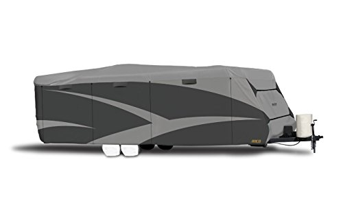 ADCO 52245 Designer Series SFS Aqua Shed Travel Trailer RV Cover - 28'7' - 31'6' , Gray