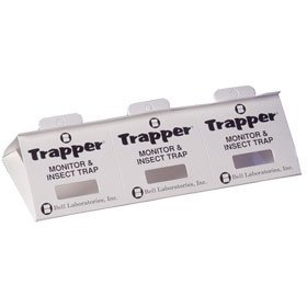 Bugs Bed Insects - Trapper Insect Trap (Great for Bed Bugs, Spiders, Cockroaches) - Includes 90 Traps