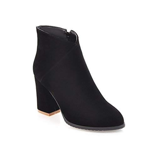 Balamasaabl09646 - Sandales Compensées Pour Femmes, Noir (noir), 35 Eu