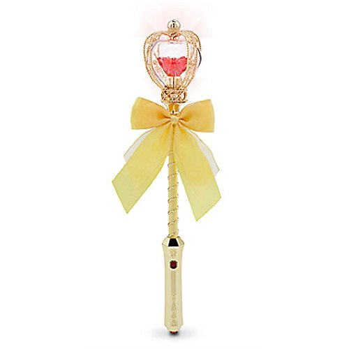 Belle Light-Up Wand with Light Up Red Rose