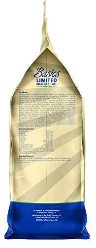Blue Buffalo Basics Limited Ingredient Diet Grain Free, Natural Indoor Adult Dry Cat Food, Duck & Potato 5-lb
