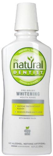 The Natural Dentist Whitening Antigingivitis Rinse, Clean Mint - 16.9 oz - 2 pk