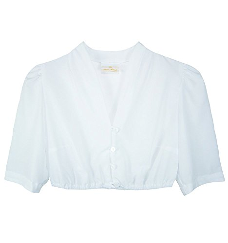Blusa Blanco Marcel Pierre Mujer Para Die Bluse qawO7