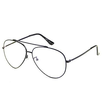Cyxus Blue Light Blocking Glasses for Computer Use, Anti Eyestrain Lens TR90 Frame Eyeglasses, Black, Men/Women