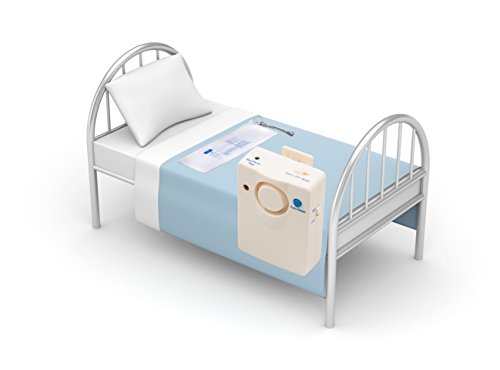 Bed Alarm And Long Term Sensor Pad - Fall Prevention Bed Alarms for Elderly - Bed Exit Alarm - Bed Pad Alarm - Caregiver - Fall Risk Management - Weight Sensor Pad - Alarm or Music Alert