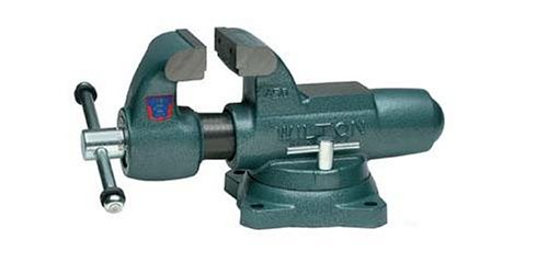 Wilton 10031 600S 6-Inch Jaw Width by 10-Inch Opening Machinist Swivel Base Vise by Wilton