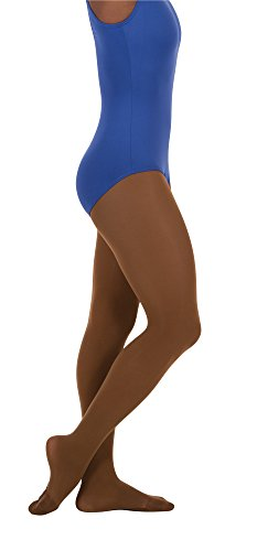 - Body Wrappers Women's Total Strech Convertible Tights - A31, Coffee, Small/Medium