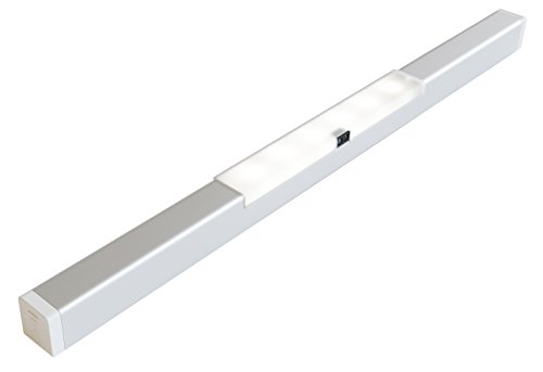 EShine Stick-On Anywhere Closet Cabinet LED Light, with Door Sensor or Hand Wave Control! - Includes 3M Sticker, Magnetic Strip - No Screws Needed - Easy Installation (Closet Door Switch Light compare prices)
